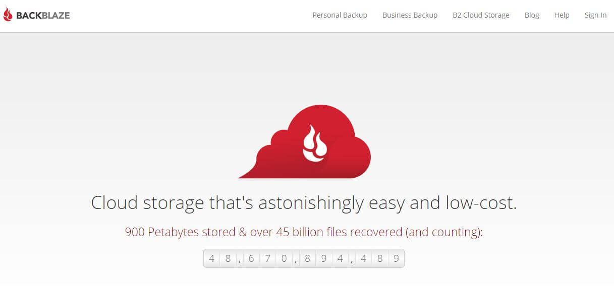 Backblaze – unlimitierter Cloud Speicher