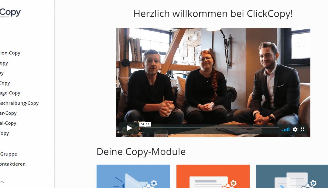 Click Copy Erfahrung – alle Funktionen + Spezialangebot